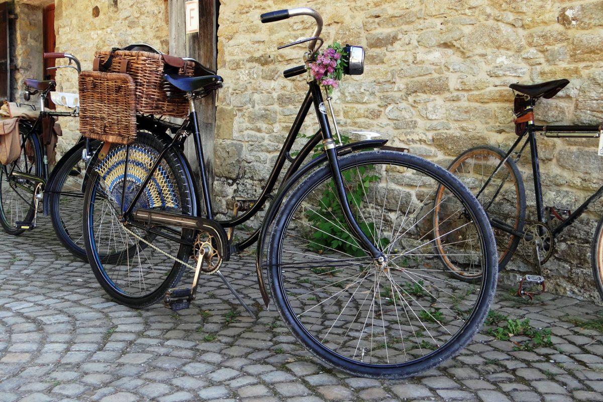 Vintage Maß Fahrradbekleidung